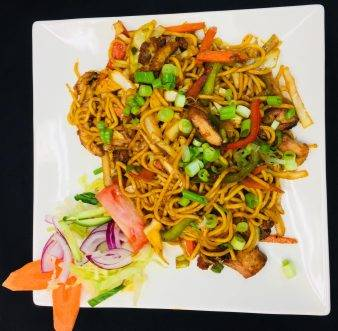 Nepalese Style Chow Mein
